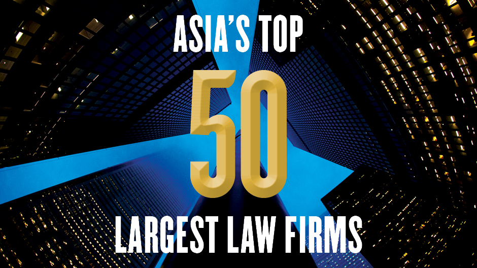 Asia's top 50 largest law firms